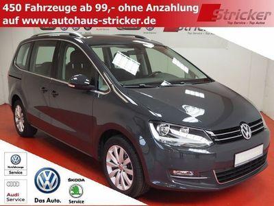 gebraucht VW Sharan Highl. 1.4TSI 244,-ohne Anzahlung Sitzheizung Ein