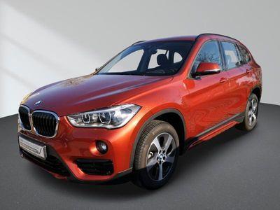gebraucht BMW X1 xDrive18d Sport Line Aut. AHK LED Navigation HiFi el. Heckklappe