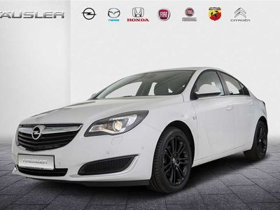 gebraucht Opel Insignia 1.6 Edition Automatik Parksensoren Sitzheizung Led