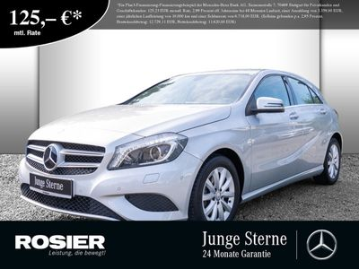 gebraucht Mercedes A200 CDI Style Xenon Navi Kamera SHZ Einparkh.