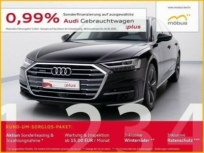 gebraucht Audi A8 50 TDI QU*TIPTR*MATRIX*CAM*AIR*PANO*VC*LEDER