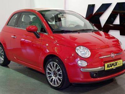 gebraucht Fiat 500C Cabrio 1.2 Lounge +Teil-Leder +Einparkhilfe +Klimaauto. +1.Hand