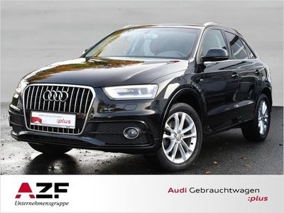 gebraucht Audi Q3 2.0 TDI S line+Xenon+Navi+Einparkhilfe hi.