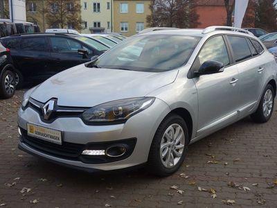 gebraucht Renault Mégane Kombi 1.5 dCi Limited Deluxe Klimaautomatik