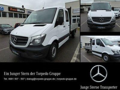 gebraucht Mercedes Sprinter 313 PRITSCHE+DOKA+MAXI+AHK+1.HD+JST