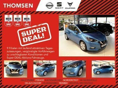 gebraucht Nissan Micra N-WAY 100PS Klima-NAVI-USB-LM16-Bluetoth