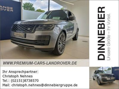 gebraucht Land Rover Range Rover 3.0 Vogue Head Up Pano 22 Zoll Neuwagen, bei Autohaus Dinnebier GmbH