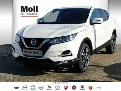 gebraucht Nissan Qashqai 1.3 DIG-T 140PS N-Connecta FSH 5 Jahre Garantie incl. WKR