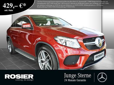 gebraucht Mercedes GLE400 Coupe 4M AMG Line Standhz. LED Pano Navi