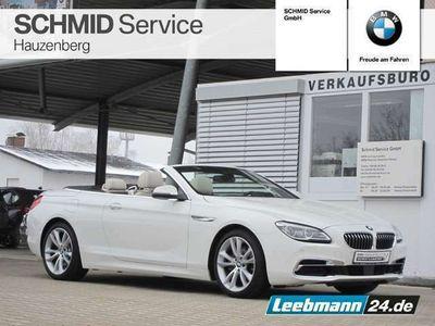 gebraucht BMW 640 Cabriolet d xDrive SITZBEL./RFK 2 JAHRE GARANTIE