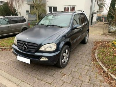gebraucht Mercedes ML270 CDI ,DPF, TÜV bis 06/2021,