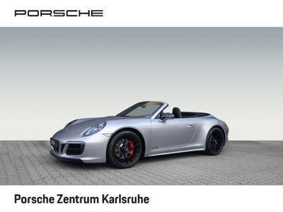 gebraucht Porsche 911 Carrera GTS 991 Cabrio BOSE LED 20-Zoll