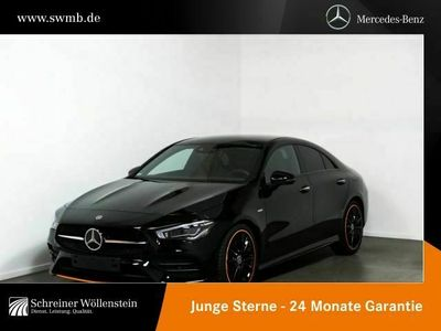 gebraucht Mercedes CLA220 d Coupé AMG+Night+LED+Kamera+Keyless+PDC