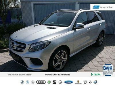 gebraucht Mercedes 350 GLE SUVd 9G-TRONIC 4MATIC AMG-LINE * AIRMATIC-PAKET 360°-KAMERA PANORAMA AHK 20 ZOLL LED-INTELLIGENT LIGHT SYSTEM