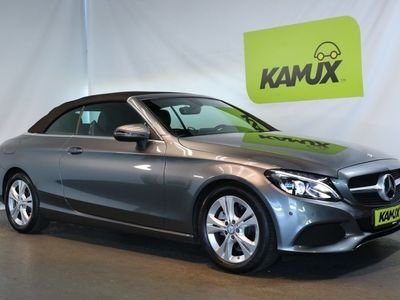 gebraucht Mercedes C220 d 7G-Tronic +LED ILS +Navi +Leder +2x PDC +EURO 6