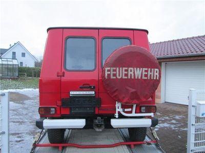 """gebraucht Mercedes G230 230 G """"1.Hd. 37.000 km"""" Feuerwehr 35 Jahre!"""