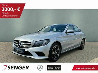 gebraucht Mercedes C220 d Avantgarde+Schiebedach+Totwinkel+RFK+LED