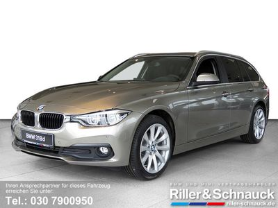 gebraucht BMW 318 d Touring xDrive Advantage DAB HiFi LED PANOR