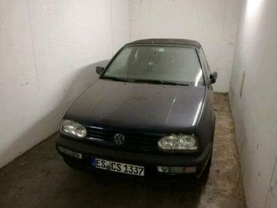 used VW Golf Cabriolet 3