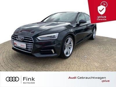 gebraucht Audi A5 Sportback Sport 40 TFSI S line Navi Kamera AHK Teilleder