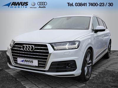 gebraucht Audi Q7 S line 3.0 TDI quattro LED W-LAN ACC EU6