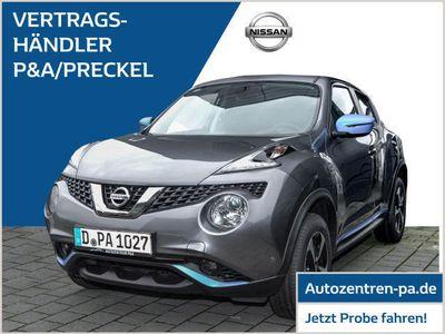 used Nissan Juke N-Connecta 1.6 /Exterieur Blue/Navi/Kamera