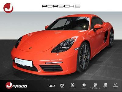 gebraucht Porsche 718 Cayman S Leder Automatik Spurw. BOSE Sitzh.