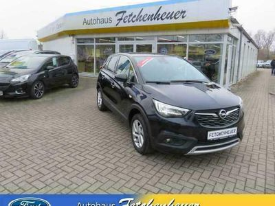 gebraucht Opel Crossland X 1.2 Aut. m. NAVI+LED+KAMERA+SHZ+TEMP