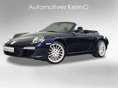 gebraucht Porsche 911 Carrera Cabriolet 997 3.6 PCM SH 19ZOLL PA