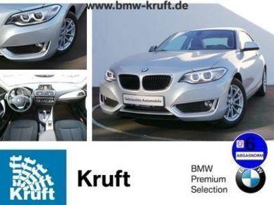 gebraucht BMW 218 d Coupe Autom/Xenon/PDC/Lea 279 EUR
