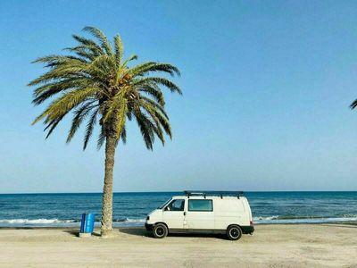 gebraucht VW T4 Camper mit liebevollem Ausbau