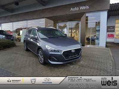 gebraucht Hyundai i30 cw 1.4T DCT YES! PLUS Automatik+Sitzheizung+Rückfahrkamera