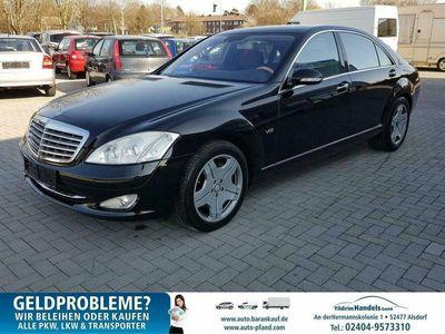 gebraucht Mercedes S600 2 HAND,LEDER,KLIMA,NAVI,ALU,ESSD,PDC