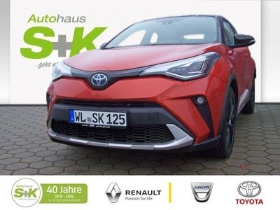 gebraucht Toyota C-HR 2,0-l-Hybrid 5-Türer Orange Edition ABS ES