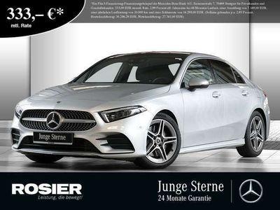 gebraucht Mercedes A250 Limousine AMG Line 4M Pano Distr+ Multi