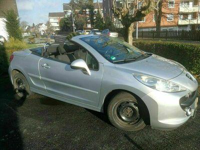 gebraucht Peugeot 207 CC Cabrio Klima