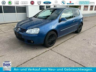 gebraucht VW Golf Trendline HU neu Klimaauto 8 Fach Ber. SHZ 75 k...