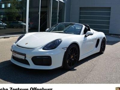 gebraucht Porsche Boxster Spyder ! Zentrum Offenburg !