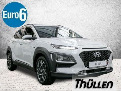 gebraucht Hyundai Kona Hybrid Premium 1.6 Benzin DCT ASCC Navi Sitzp