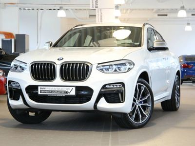 gebraucht BMW X4 M40d Head-Up HiFi LED WLAN Navi Prof. AHK