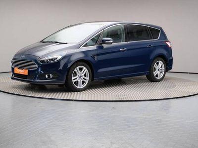 gebraucht Ford S-MAX 2.0 TDCi Aut. Titanium 7-Sitzer Navi AHK