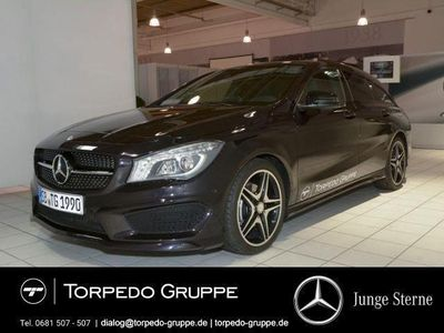 gebraucht Mercedes CLA200 d SB AMG-LINE+NAVI+PANO+ILS+SOUND+SPUR