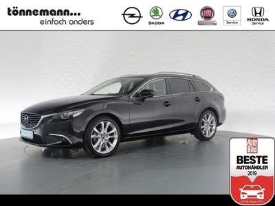gebraucht Mazda 6 2.0 Kizoku Skyactiv, Abnehmbare AHK, LED Schw., Navi, Freispr., Alufelgen, Parkpilot v+h