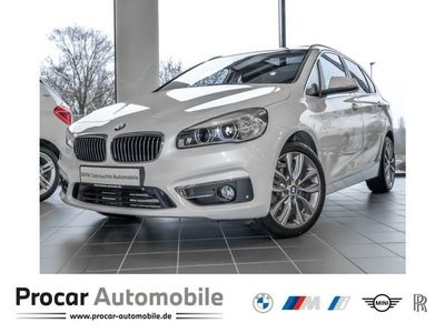gebraucht BMW 218 Active Tourer 2er d Luxury Line