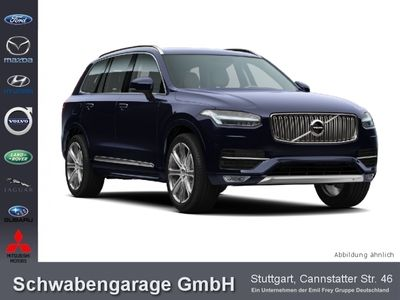 gebraucht Volvo XC90 D5 AWD Geartronic Schiebedach LED AHK