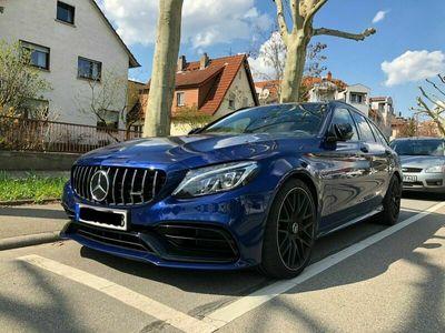 gebraucht Mercedes C63S AMG MERCEDESAMG * W205 * VOLL * 1 J. GARANTIE