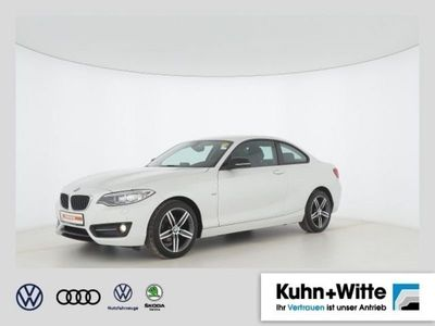 gebraucht BMW 218 d Coupé Sport Line *EU6,Xenon,Navi,HiFi Soun