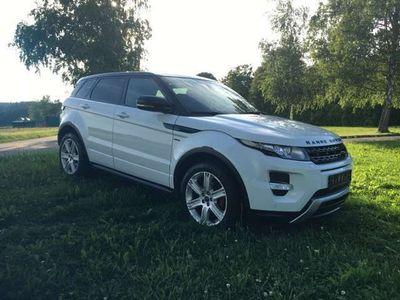 gebraucht Land Rover Range Rover evoque TD4 Dynamic