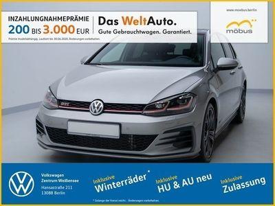 gebraucht VW Golf VII 2.0 TSI DSG GTI PANO+LED+ACC+KEYLESS++