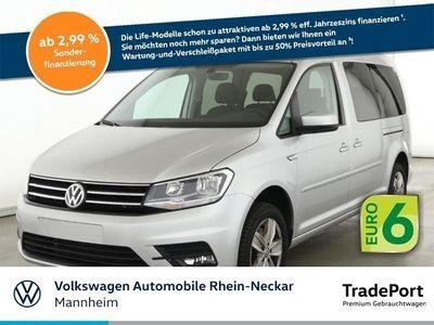 gebraucht VW Caddy Maxi Kombi 1.4 TSI Comfortline Navi 7-Sitze Einpar